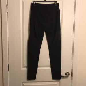 C&C California Pants - High Rise Leggings with Mesh Cut Outs Large